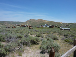 The once booming town of Bodie, now a State Historic Park.