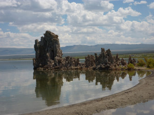 The tufa towers at Mono Lake, an important location early in Long John.