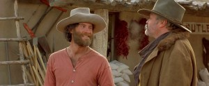 Great minds think a like! A shot of Kevin Kline from Silverado. Source: fthismovie.net