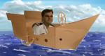 Andrew in Cardboard