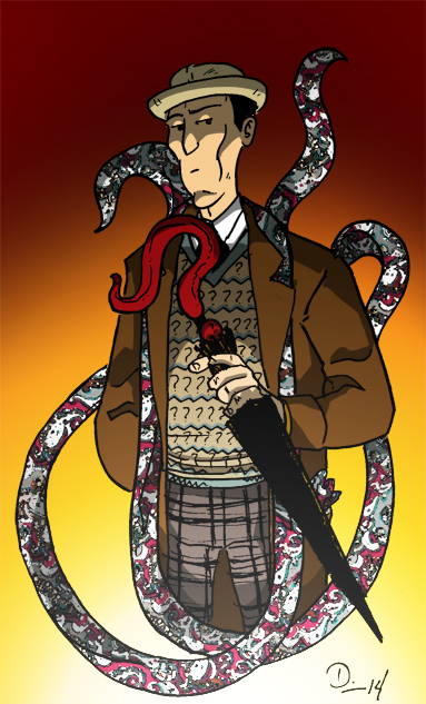 Doctor Cthulwho - A mashup of HP Lovecraft & the 7th Doctor