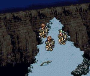 Final Fantasy VI's opening scene.