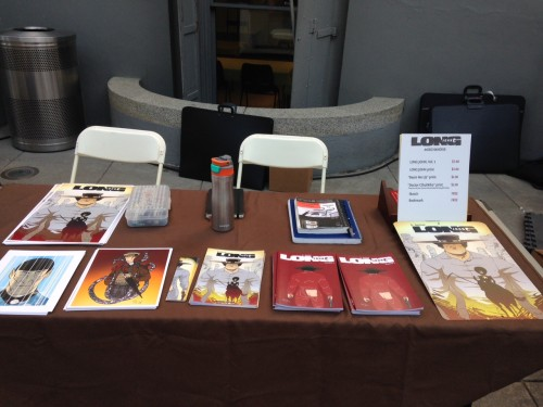 Crocker-Con 2015 Table Setup