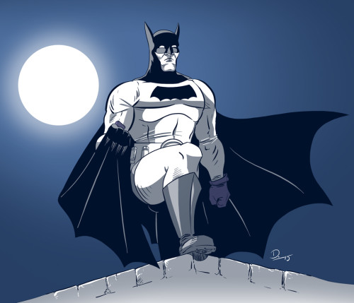 Sketch Fridays #10 - 1939 Batman. Click to enlarge.