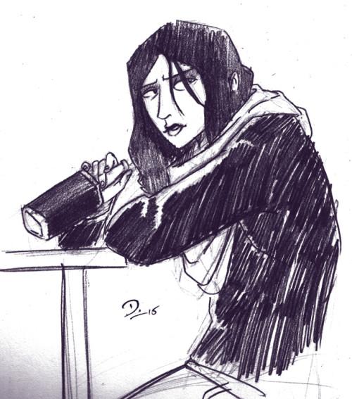 Sketch Friday #09 - Jessica Jones. Click to enlarge.