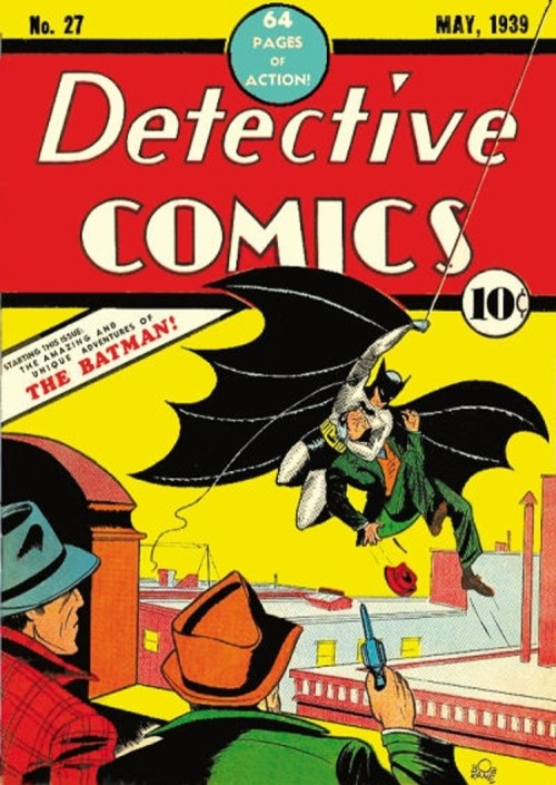 Batman's first appearance was weird.