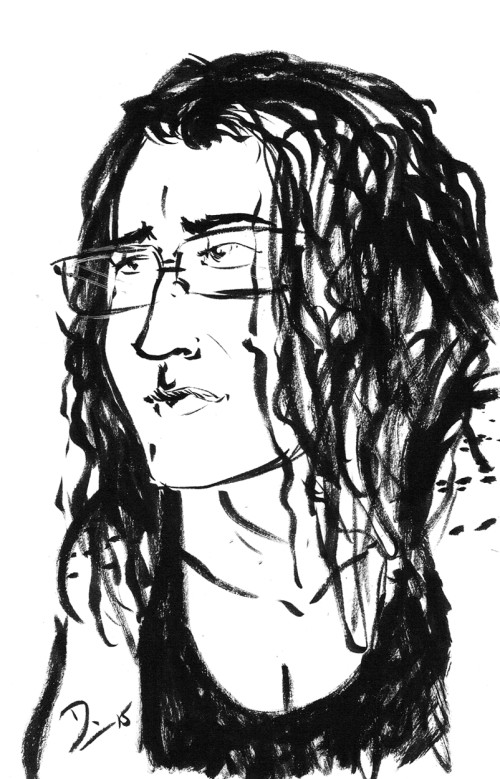 Sketch Fridays #11 - Nicole.