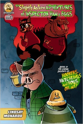The Slightly Askew Adventures of Inspector Ham & Eggs #1 by Lauren Gramprey