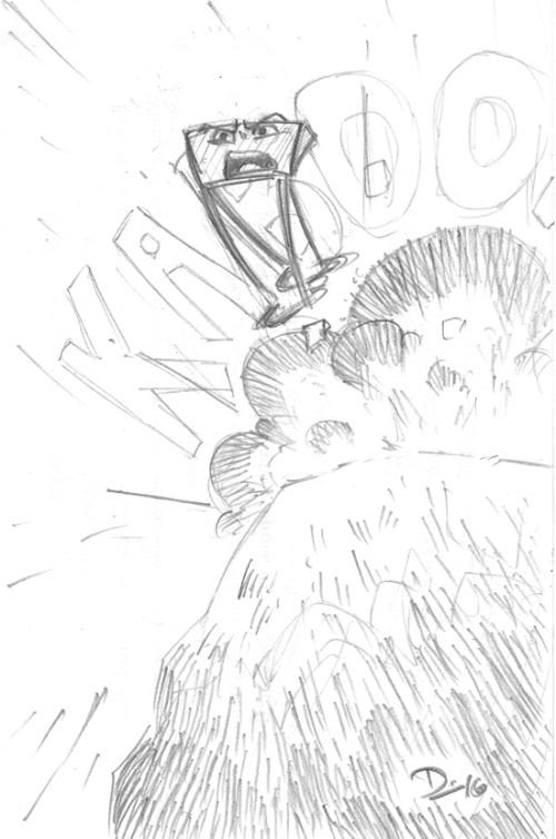 Sketch Fridays #18 - Binder Clip Doodles. Click for larger version.
