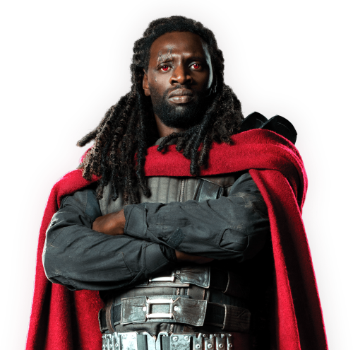 Bishop as portayed in the 2014 film, X-Men: Days of Future Past, played by Omar Sy.