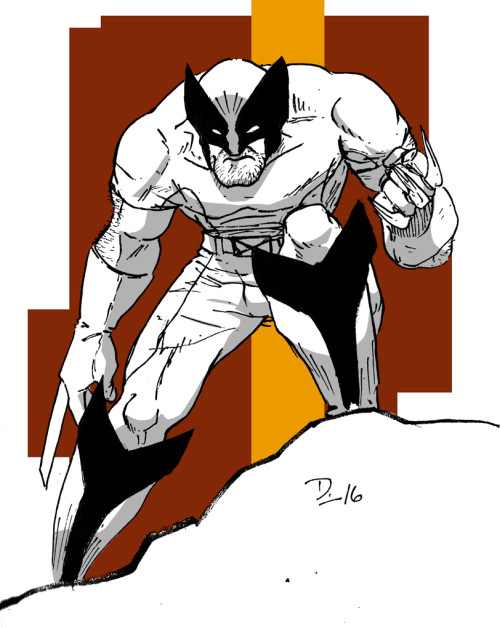 Sketch Fridays #16 - Wolverine
